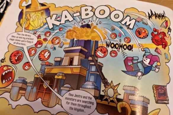 LEGO NEXO Knights Magazine - Comic action