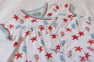 Rockin' Baby - Wrappin' Seahorse AOP Wrap Dress
