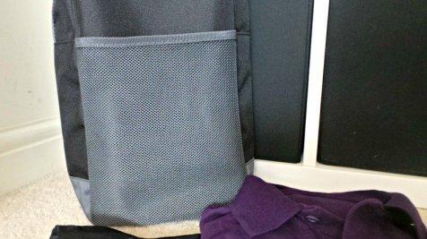 Name It Labels Boot Bag - Mesh pocket