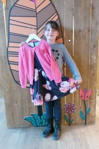 Nutmeg AW16 - Liberty Dress and Cardigan (roo)