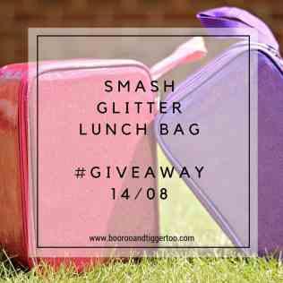 August 1 - Smash Glitter Lunch Bag - instagram