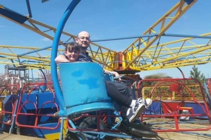 Sir Billy Butlins Fairground - Paratrooper B