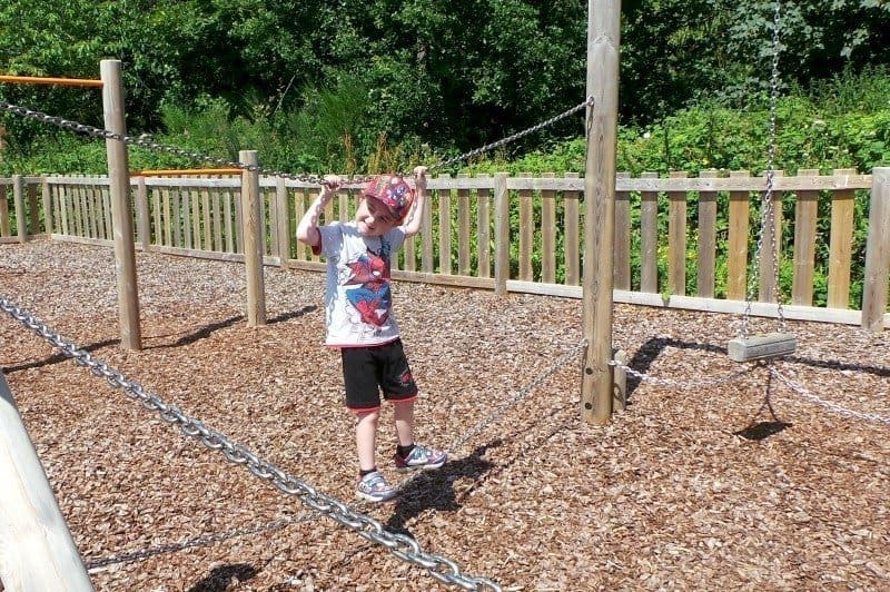 Taverham Mill - Tigger Rope Bridge