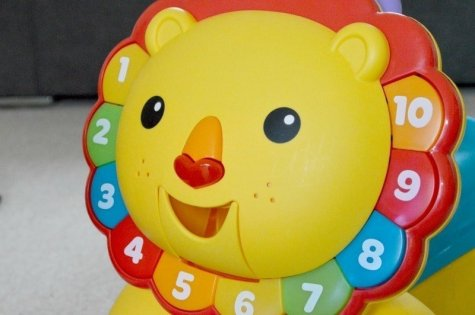 Fisher-Price 3-in-1 Sit, Stride & Ride Lion - Lion Face