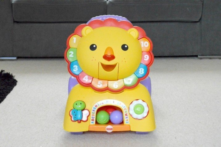 Fisher-Price 3-in-1 Sit, Stride & Ride Lion - Sit