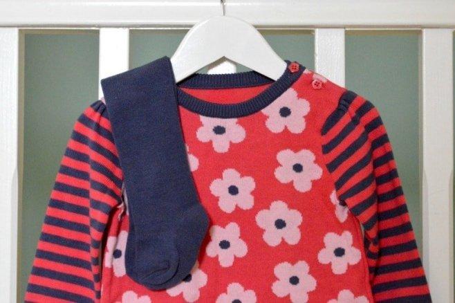 Nutmeg Baby Knitted Dress