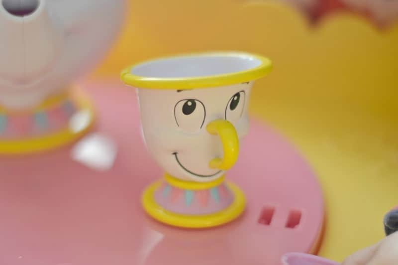 Disney Belle Musical Tea Party Cart - Chip