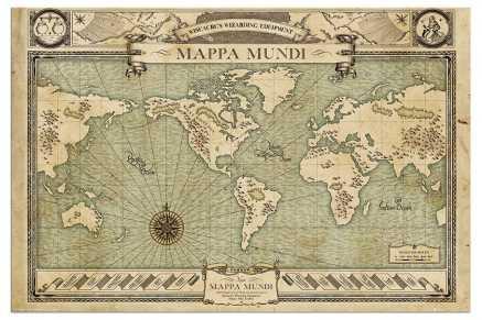 Fantastic Beasts (Mappa Mundi) Maxi Poster