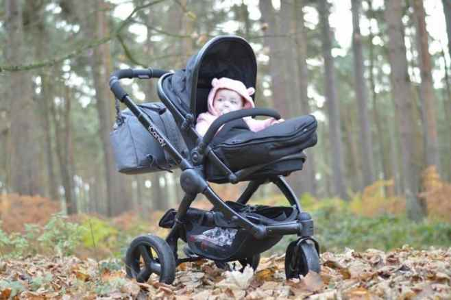 Adventures with the iCandy Peach All Terrain pushchair