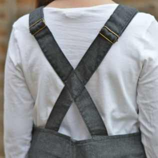Milk & Biscuits Pinafore Dress straps