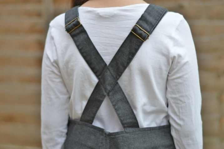 Milk & Biscuits Pinafore Dress straps