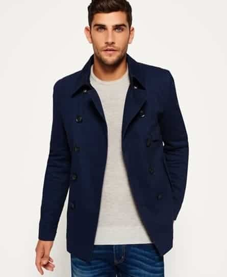 Superdry Blockade Bedford Pea Coat