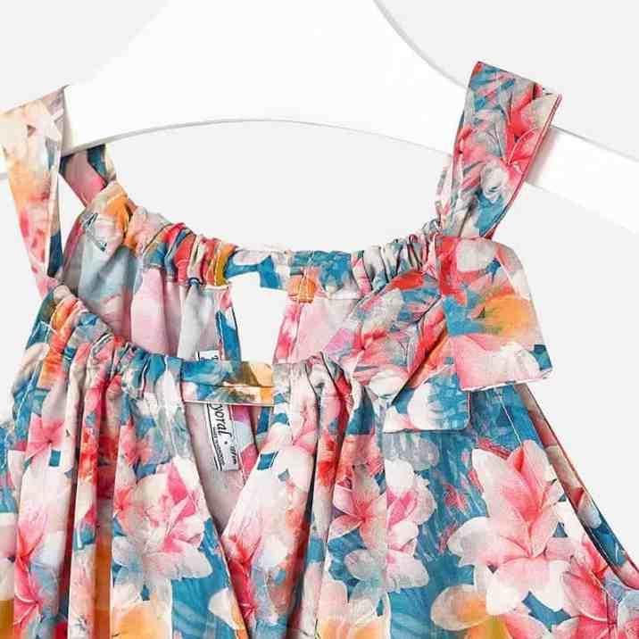 Girl print dress