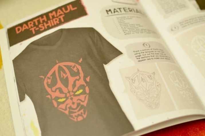EGMONT Star Wars Make & Do - Darth Maul T-Shirt