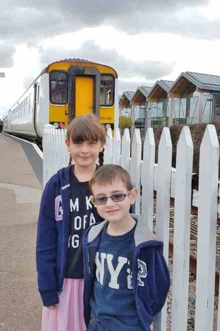 Sheringham Train Station - Roo and Tigger