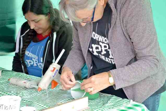 AVIVA Community Fund Norwich Puppet Theatre - Dragon Making (hot glue)