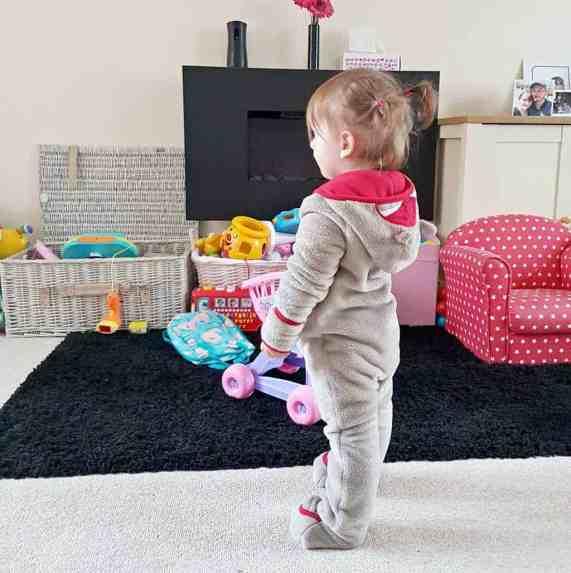Lupilu Fleece Snowsuit - Piglet 22 months