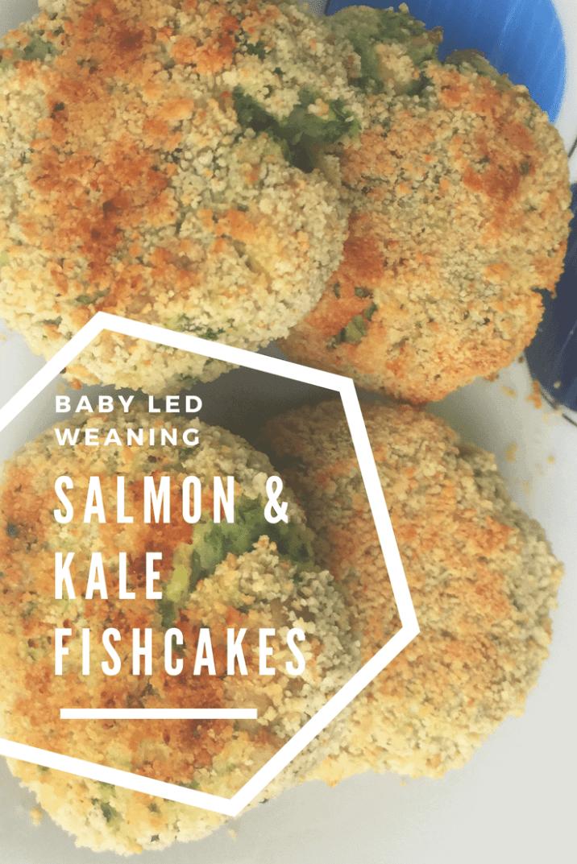 Salmon and Kale Fishcakes