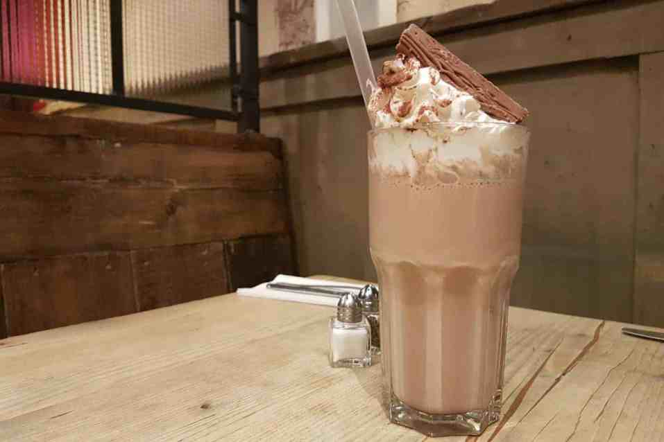 Bill's Restaurant Norwich - Chocolate Milkshake