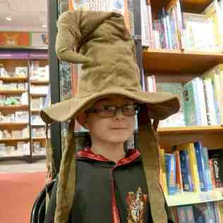 Harry Potter Book Night - Sorting Hat (Tigger)