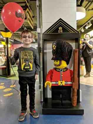 LEGO at Hamleys - Tigger Royal Guard A