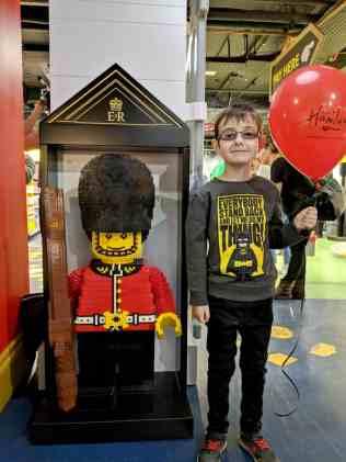 LEGO at Hamleys - Tigger Royal Guard B