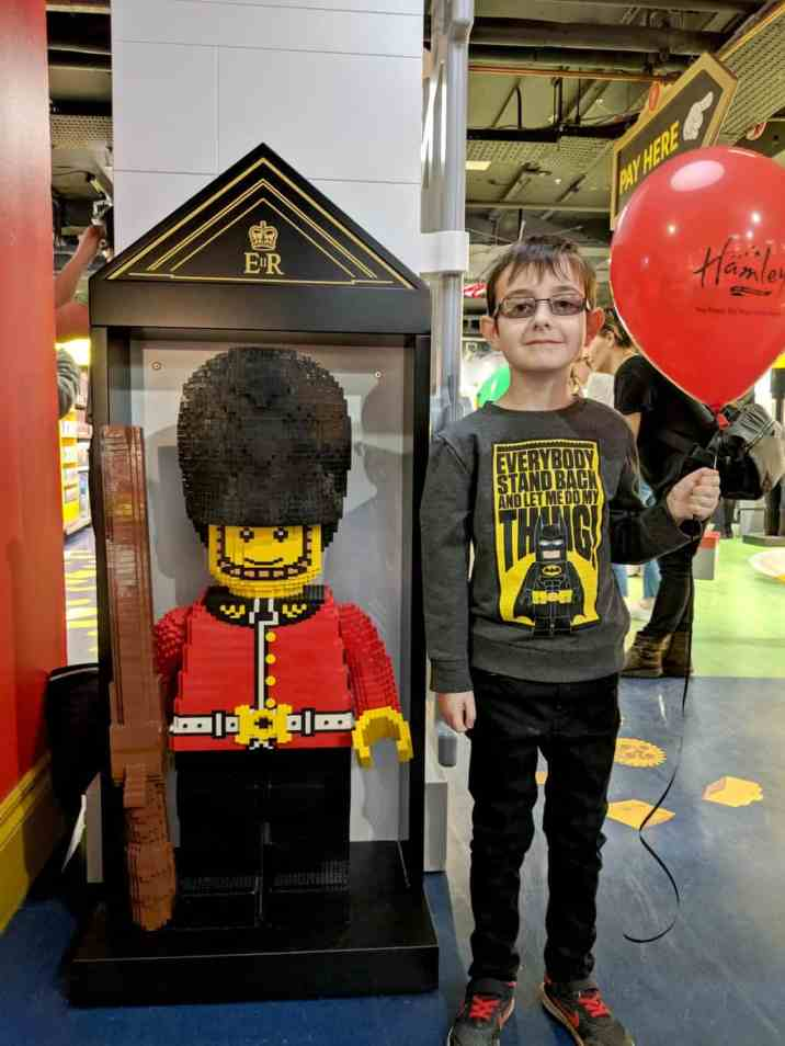 LEGO at Hamleys - Tigger Royal Guard B