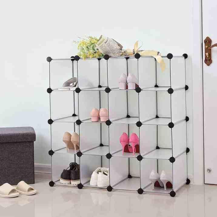 Understairs Shoe Storage Shelves
