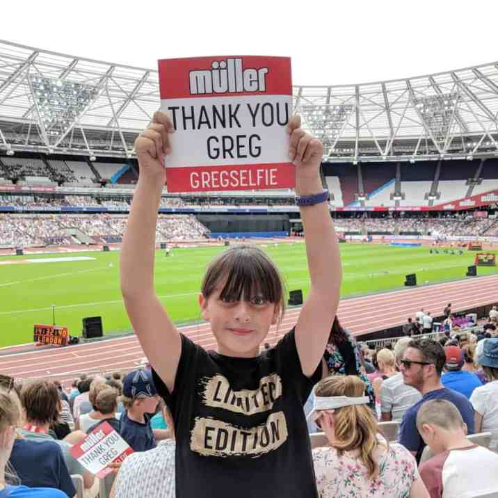 Muller Anniversary Games - Roo Thank You Greg