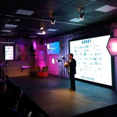 Ricardo Mora RESET 2018 Technology Hub Boost Human