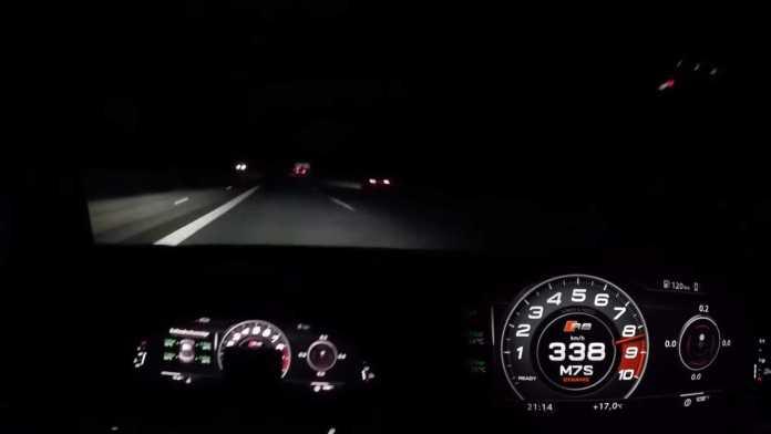 At slippe en Audi R8 med kompressor og 810 hestekræfter kræver et seriøst greb i rattet. Monsteret her kommer fra MTM.