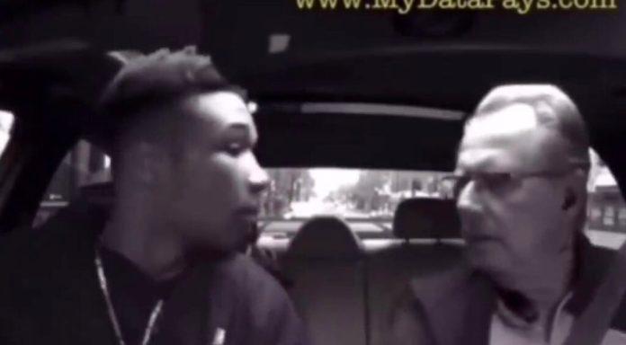 VIDEO: Uber-chauffør beder røver fucke af