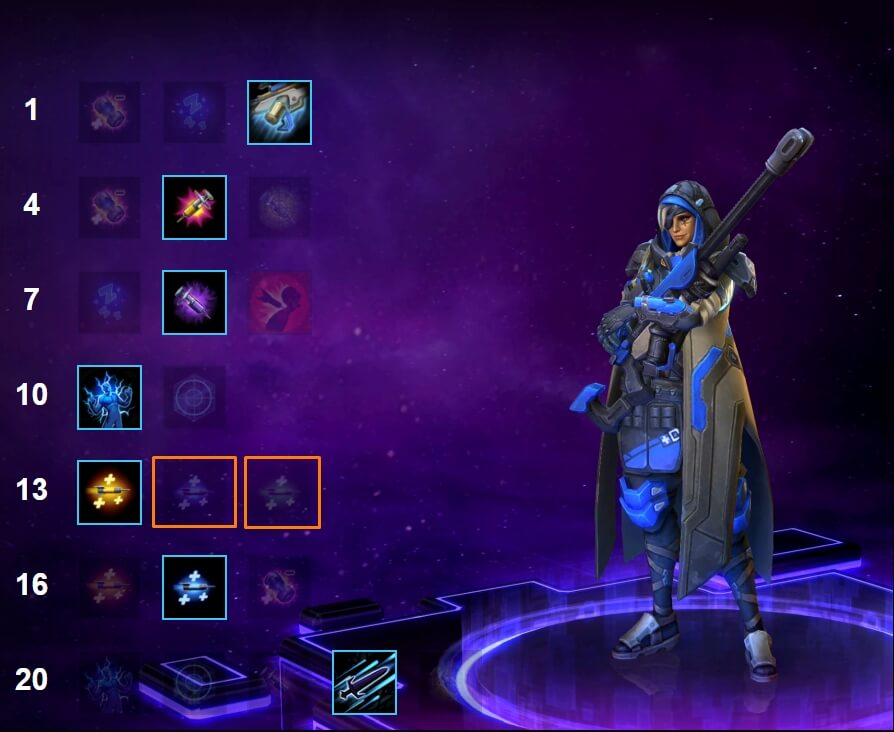 Ana Heroes Of The Storm Build