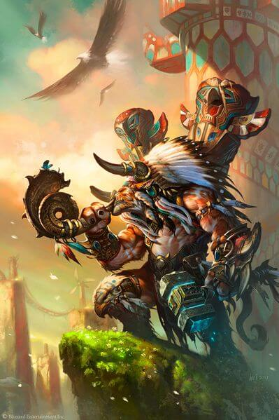 baine bloodhoof next hots hero