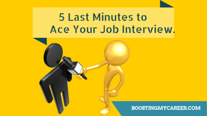 5 last minutes job interview