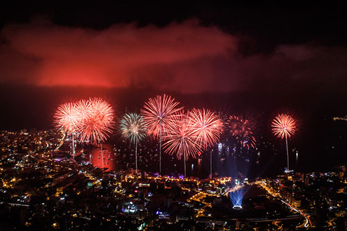 Jounieh International Festival Opening Fireworks - 2013