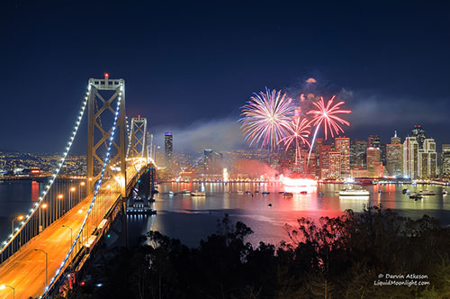 San Francisco New Years Fireworks