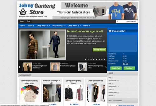 Johny Ganteng Store Cart