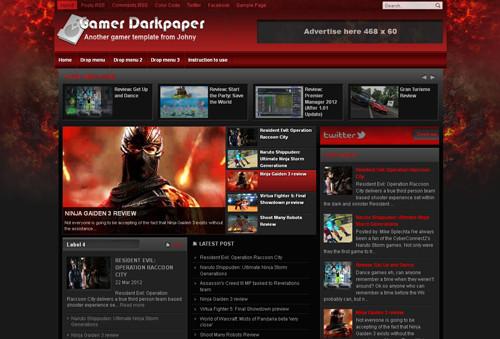 Gamer Darkpaper