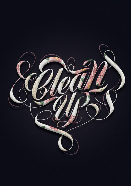 Clean Up - Typography