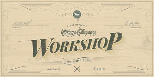 Lettering vs. Calligraphy - Official Workshop