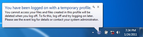 Windows-temporary-profile