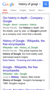 Google changing URL Structure