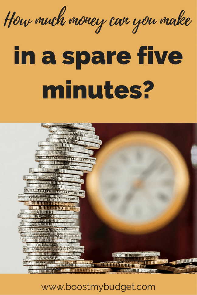 How much money can you make in a spare five minutes? My review of the Spare5 app