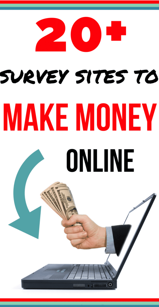 I love survey sites! Definitely one of the easiest ways to make money online FAST. All these sites work in the UK and they are a great source of extra cash! Sign up for the top 3 on this list if nothing else!