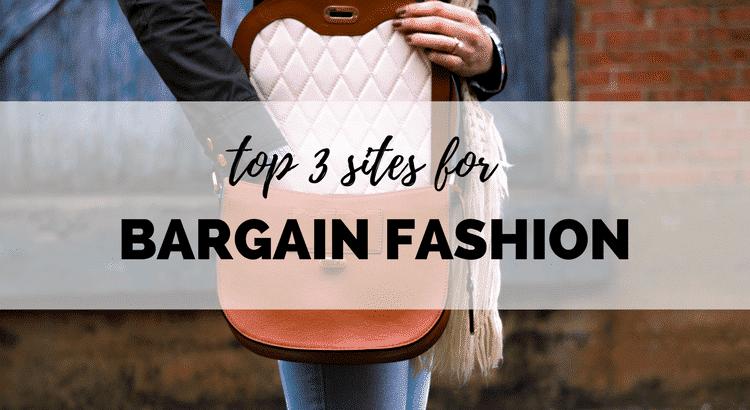 top three bargain fashion sites uk