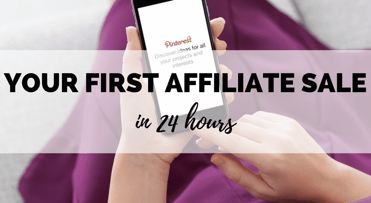 Review of the book how to make your first affiliate sale in 24 hours using pinterest