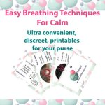 Free Breathing Techniques Printables for calm