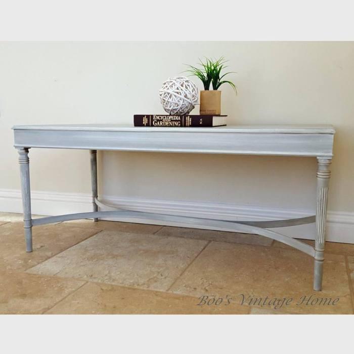 grey table rectangular