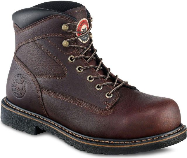 Irish Setter By Red Wing Shoes Mens Farmington  Lace Up Eh Work Boots Steel Toe